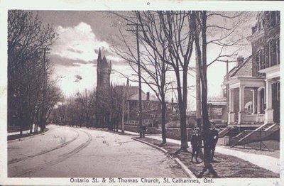 Ontario Street & St. Thomas Church