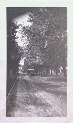 Queenston Road looking west