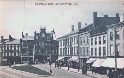 Shipmans' Gore at the corner of Ontario and St. Paul Streets, St. Catharines