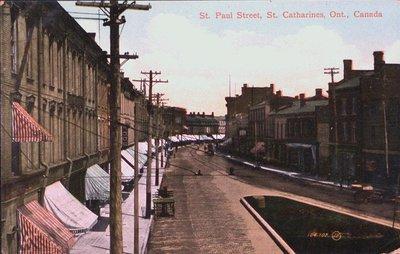 Corner of St Paul Street and Ontario Street looking east.