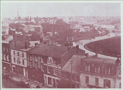 St. Paul Street, St. Catharines & The 2nd Welland Canal