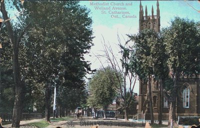 Welland Avenue and the Methodist Church, St. Catharines