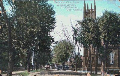 Welland Avenue and the Methodist Church, St. Catharines