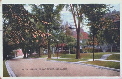 Corner of Yates Street and College Street.