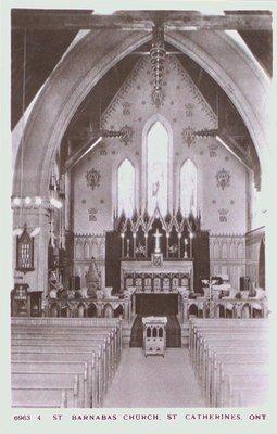 Interior of St. Barnabas Church