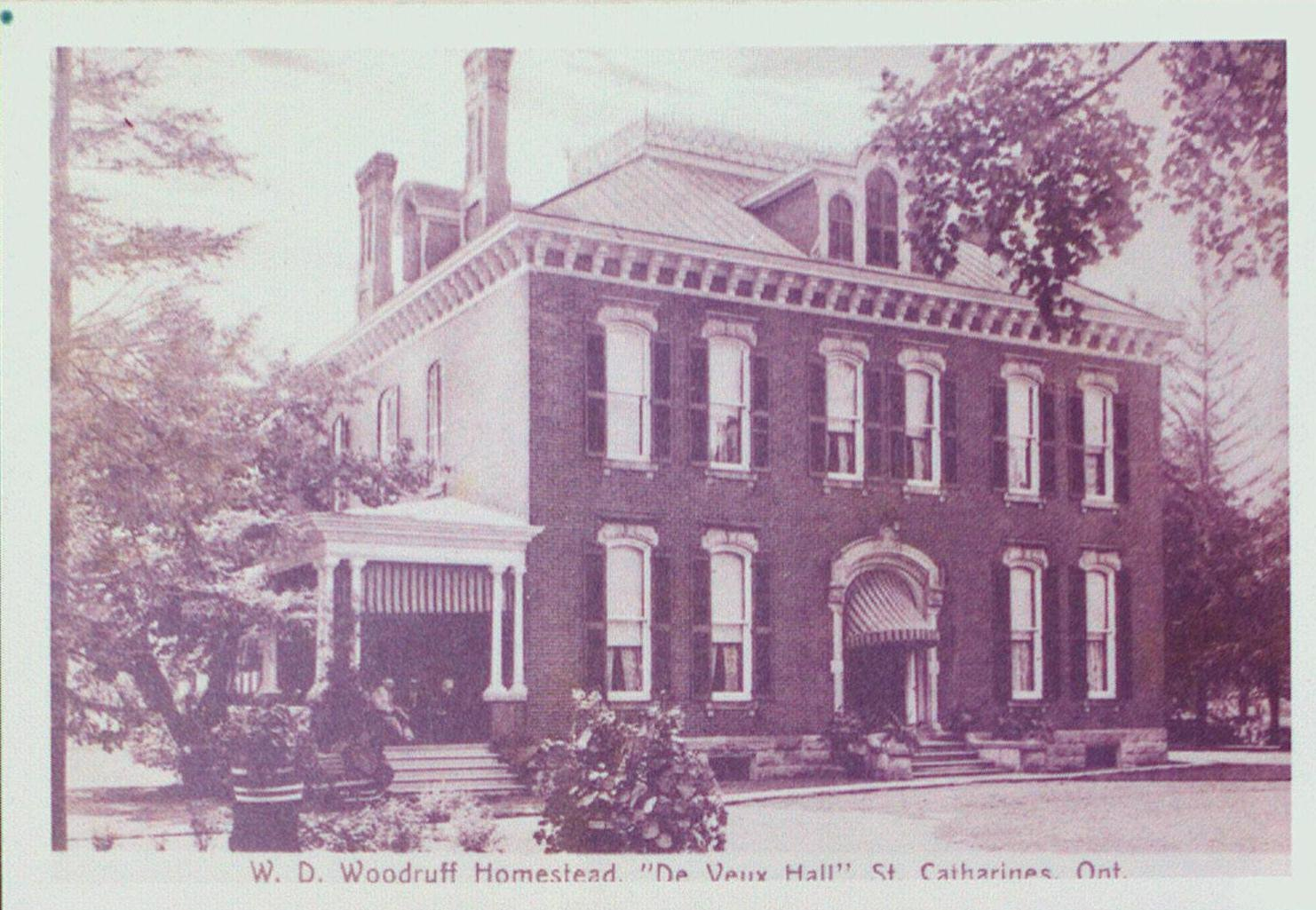 "W.D. Woodruff Homestead ""DeVeux Hall"", 199 Ontario Street"