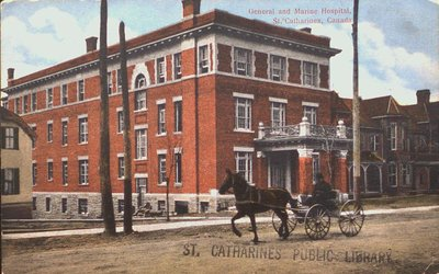 General and Marine Hospital, St. Catharines, Canada.