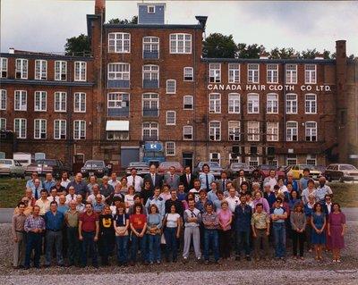 Canada Hair Cloth Co. Ltd., with Staff