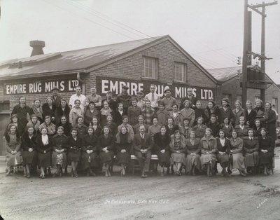 Empire Rug Mills Ltd., with Staff