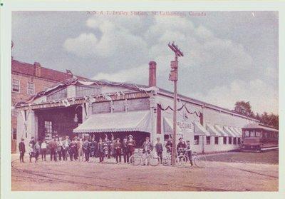 Niagara, St. Catharines and Toronto Railway Station