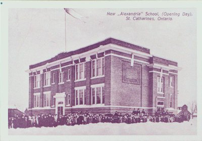 Alexandra School, Opening Day