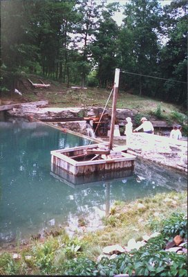 Weir at Morningstar Mills and DeCew Falls