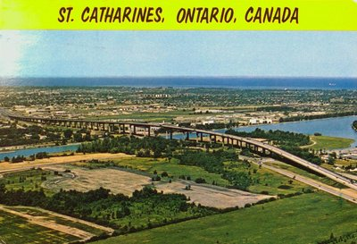 An Aerial View of St. Catharines and the Garden City Skyway