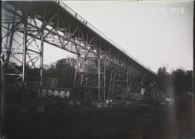 Construction of High Level Bridge (Burgoyne Bridge) Nearing Completion