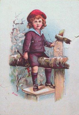 Theo. Sweet Dispensing Druggist Advertising Postcard