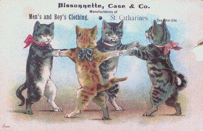 Bissonnette Case & Co. Advertising Postcard