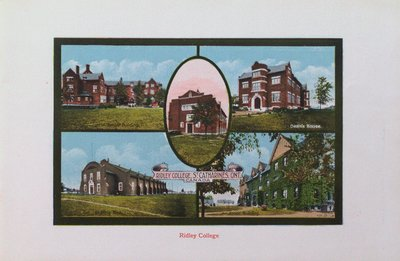 Souvenir of St. Catharines: Ridley College