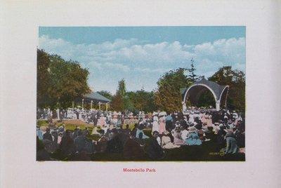 Souvenir of St. Catharines: Montebello Park