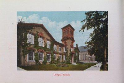 Souvenir of St. Catharines: Collegiate Institute