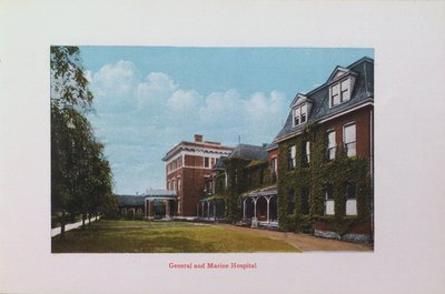 Souvenir of St. Catharines: General and Marine Hospital