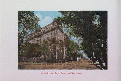 Souvenir of St. Catharines: Welland Hotel