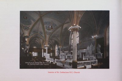 Souvenir of St. Catharines: St. Catharines Roman Catholic Church