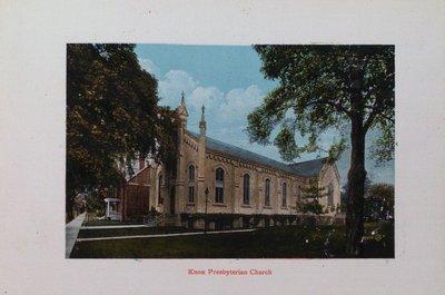Souvenir of St. Catharines: Knox Presbyterian Church