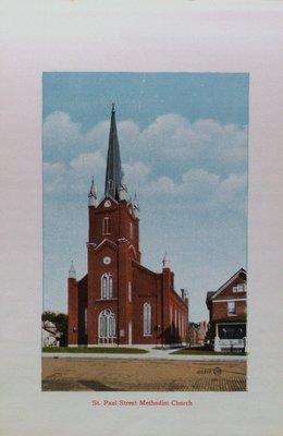 Souvenir of St. Catharines: St. Paul Street Methodist Church
