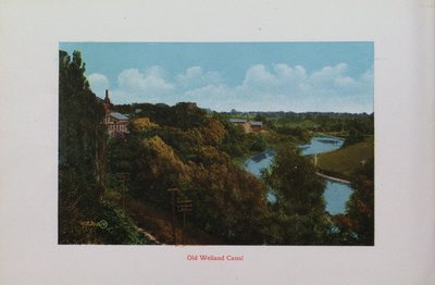 Souvenir of St. Catharines: The Old Welland Canal