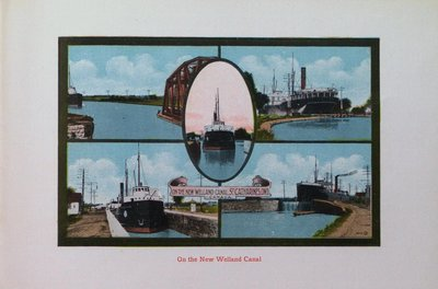 Souvenir of St. Catharines: The New Welland Canal