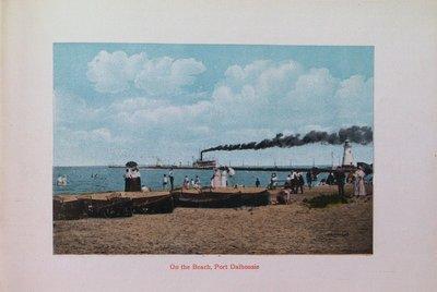 Souvenir of St. Catharines: Port Dalhousie Beach