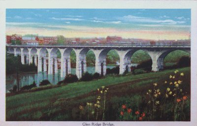 Souvenir view of St. Catharines & Port Dalhousie: Glen Ridge Bridge