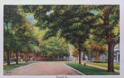 Souvenir view of St. Catharines & Port Dalhousie: Church Street
