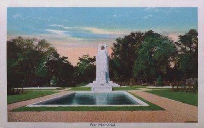 Souvenir view of St. Catharines & Port Dalhousie: War Memorial