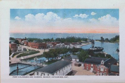 Souvenir Folder of St. Catharines: Port Dalhousie and Harbour