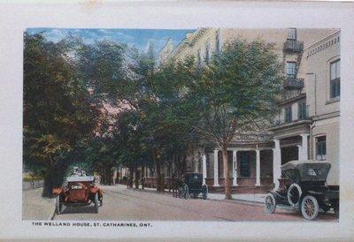 Souvenir Folder of St. Catharines: The Welland House