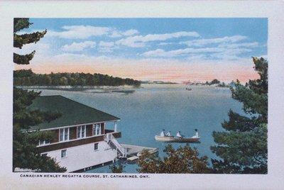Souvenir Folder of St. Catharines: Canadian Henley Regatta Course