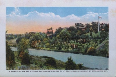 Souvenir Folder of St. Catharines: The Old Welland Canal