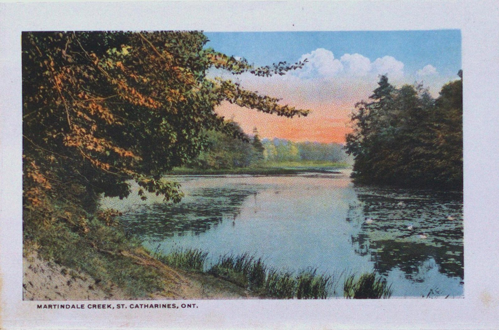 Souvenir Folder of St. Catharines: Martindale Creek