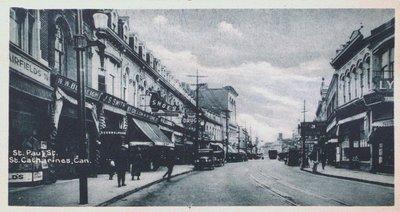 Souvenir of St. Catharines Postcards: St. Paul Street