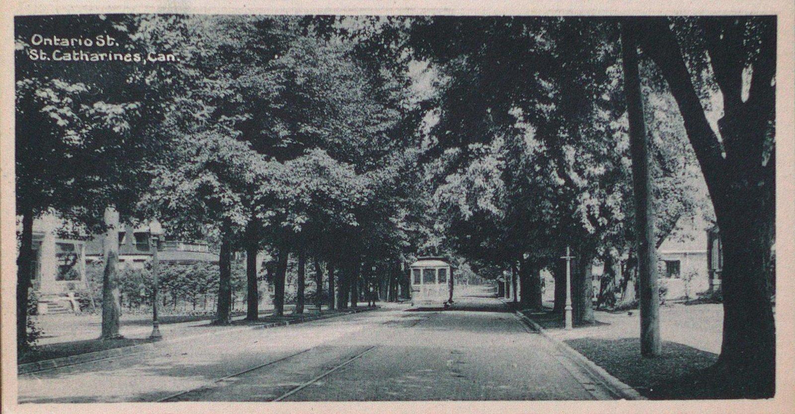 Souvenir of St. Catharines Postcards: Ontario Street