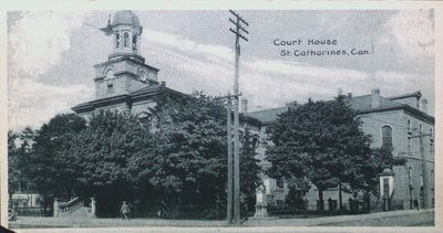Souvenir of St. Catharines Postcards: The Court House