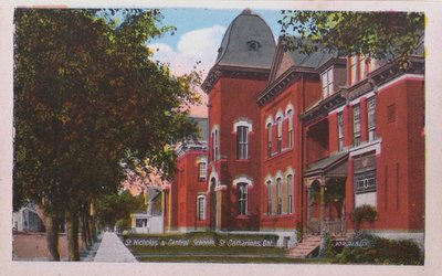 Views of St. Catharines: St. Nicholas & Central Schools