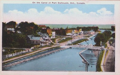 Views of St. Catharines: Canal at Port Dalhousie