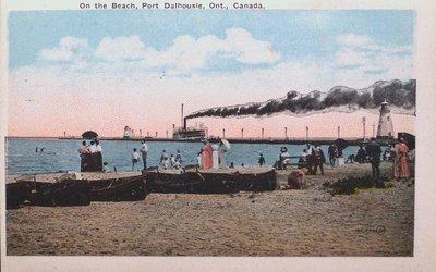 Views of St. Catharines: The Beach at Port Dalhousie