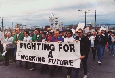 """General Motors Regarding Union """"Fighting for a Working Future"""""""