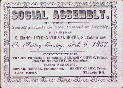 Invitation to a Social Assembly