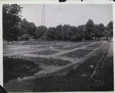 Construction of the Rose Garden at Montebello Park