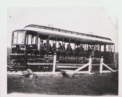 A Niagara, St. Catharines and Toronto Railway Street Car