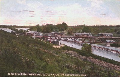 Niagara, St. Catharines, & Toronto Railway Bridge over the Old Canal